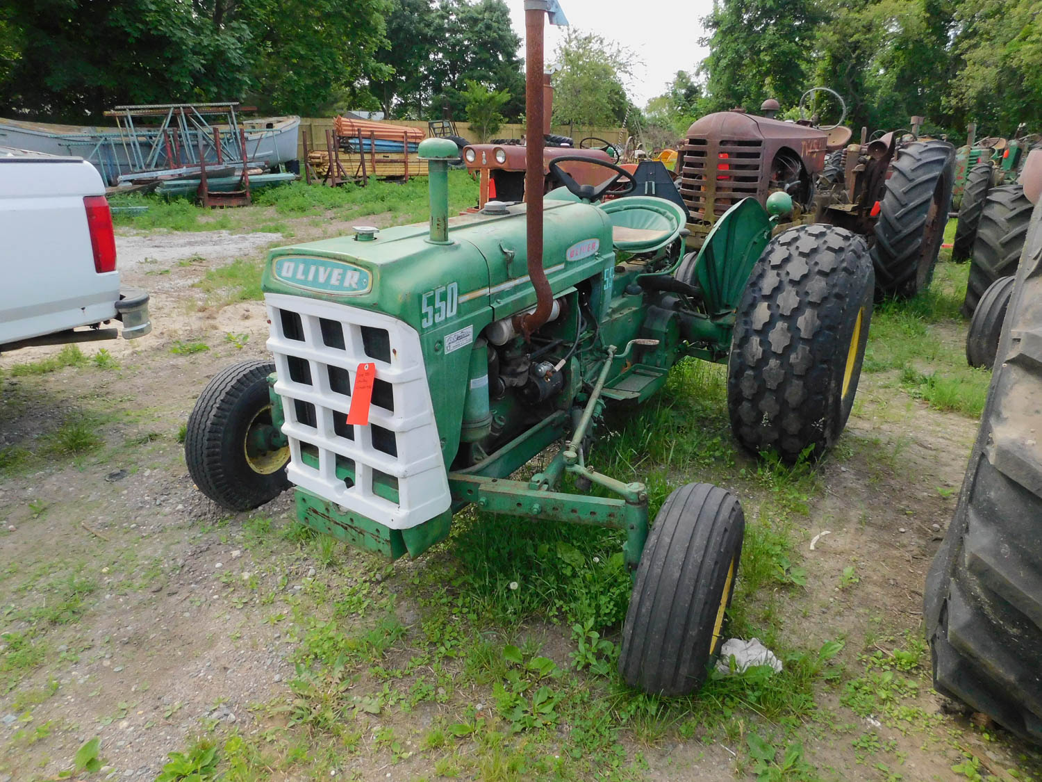 Antique Farm Tractors, Farm Implements, Vehicles & More