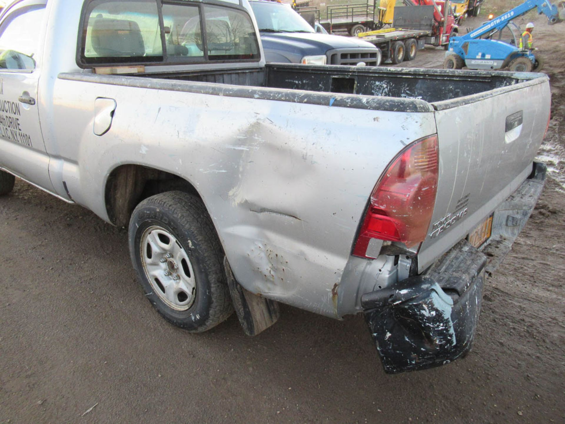 2008 TOYOTA TACOMA PICKUP TRUCK, AUTOMATIC, WITH APPROXIMATELY 105,732 MILES, VIN: 5TENX22N382504186 - Image 2 of 12