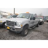 2004 FORD F-250 XLT SUPER DUTY PICKUP TRUCK, 4-WHEEL DRIVE, POWER WINDOWS & SEATS, APPROXIMATELY