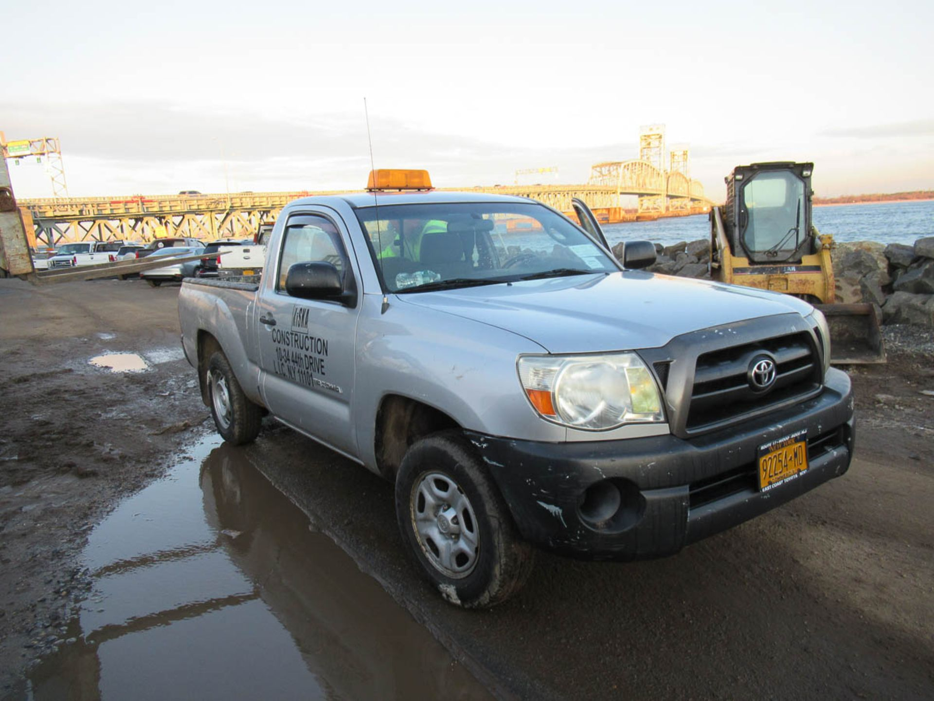 2008 TOYOTA TACOMA PICKUP TRUCK, AUTOMATIC, WITH APPROXIMATELY 105,732 MILES, VIN: 5TENX22N382504186 - Image 8 of 12