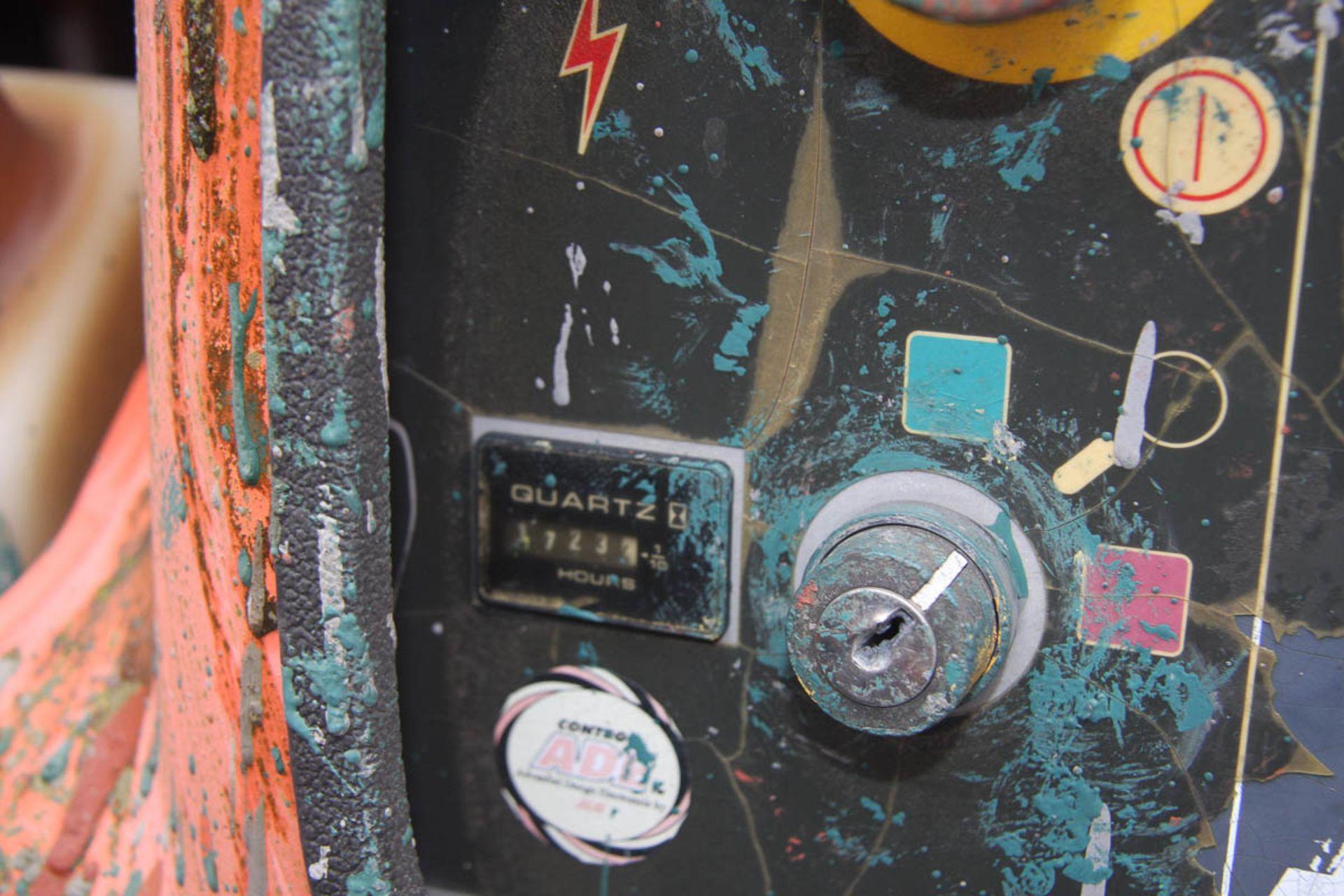 2002 JLG 450AJ SEIRES II BOOM LIFT, DIESEL, WITH 45' MAX HEIGHT, 500# CAPACITY, 24' HORIZONTAL - Image 9 of 9