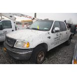 2003 FORD F-150 XLT PICKUP TRUCK, CREW CAB, TRITON V8, AUTOMATIC, APPROXIMATELY 214,220 MILES, VIN: