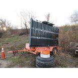 AMERICAN SIGNAL MDL. T331 MESSAGE BOARD [NOTE: SAMPLE PHOTO] [LOCATED @ WORK SITE]