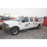 2004 FORD F350 XL 4-DOOR PICKUP TRUCK, 2-WHEEL DRIVE, AUTOMATIC TRANSMISSION, V8 GAS ENGINE, 8' BED,