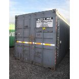 20' SHIPPING CONTAINER (#33) [LOCATED @ 6 CANAL ROAD, PELHAM, NY (BRONX)]