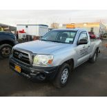 2008 TOYOTA TACOMA PICKUP TRUCK, AUTOMATIC, WITH APPROXIMATELY 105,732 MILES, VIN: 5TENX22N382504186