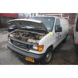 2006 FORD E-150 PANEL VAN, AUTOMATIC, APPROXIMATELY 68,506 MILES, VIN: 1FTRE14W4GDA37079 (#51) [