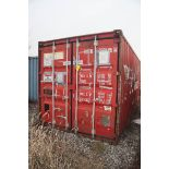 20' LONG TYPE SC20-49B SHIPPING CONTAINER, KSE169011 (2003) [LOCATED @ 6 CANAL ROAD, PELHAM, NY (