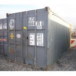20' SHIPPING CONTAINER (#2) [LOCATED @ 6 CANAL ROAD, PELHAM, NY (BRONX)]