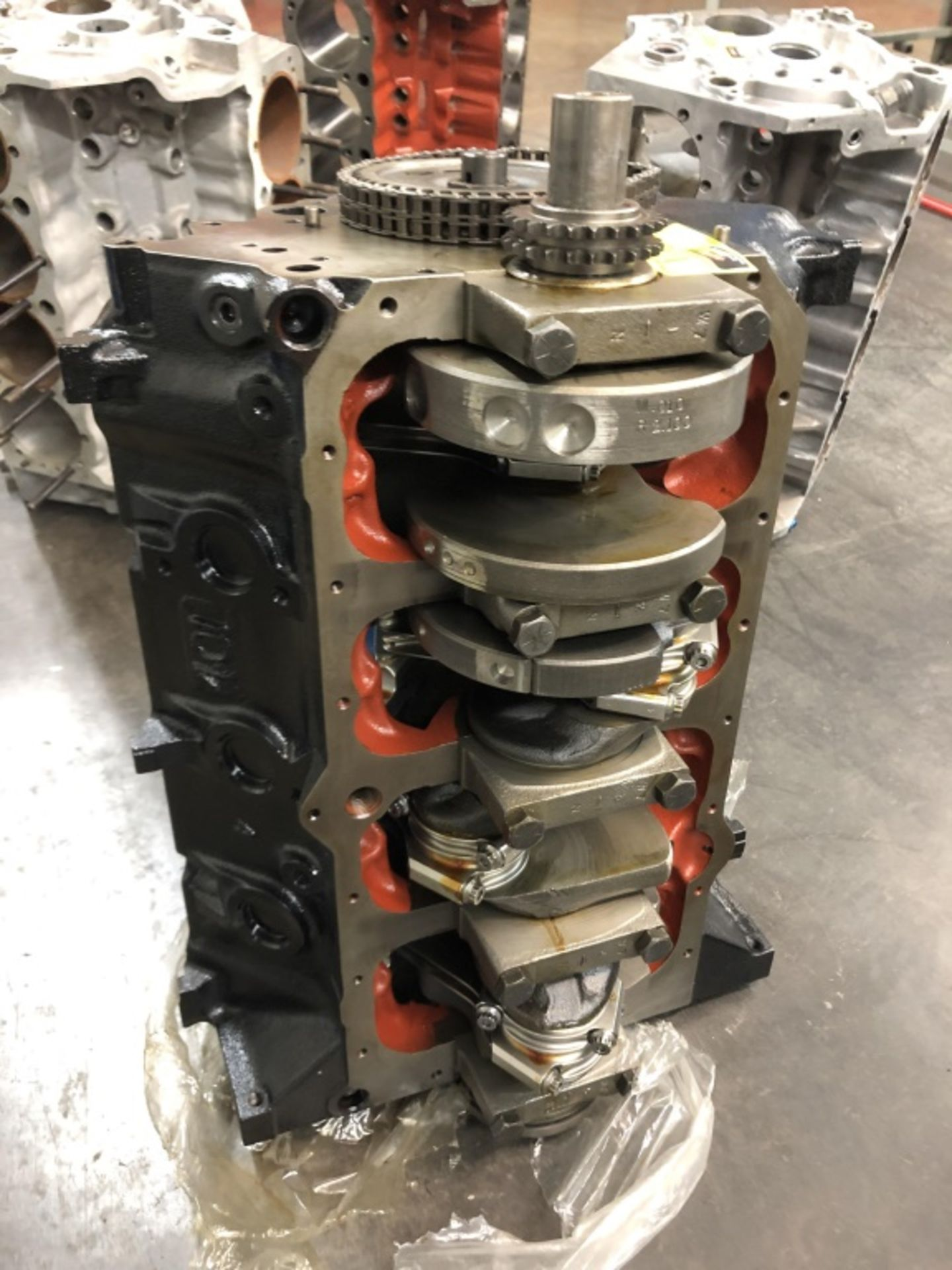 Lot 1649 - Used Race Engine, Unfinished project.