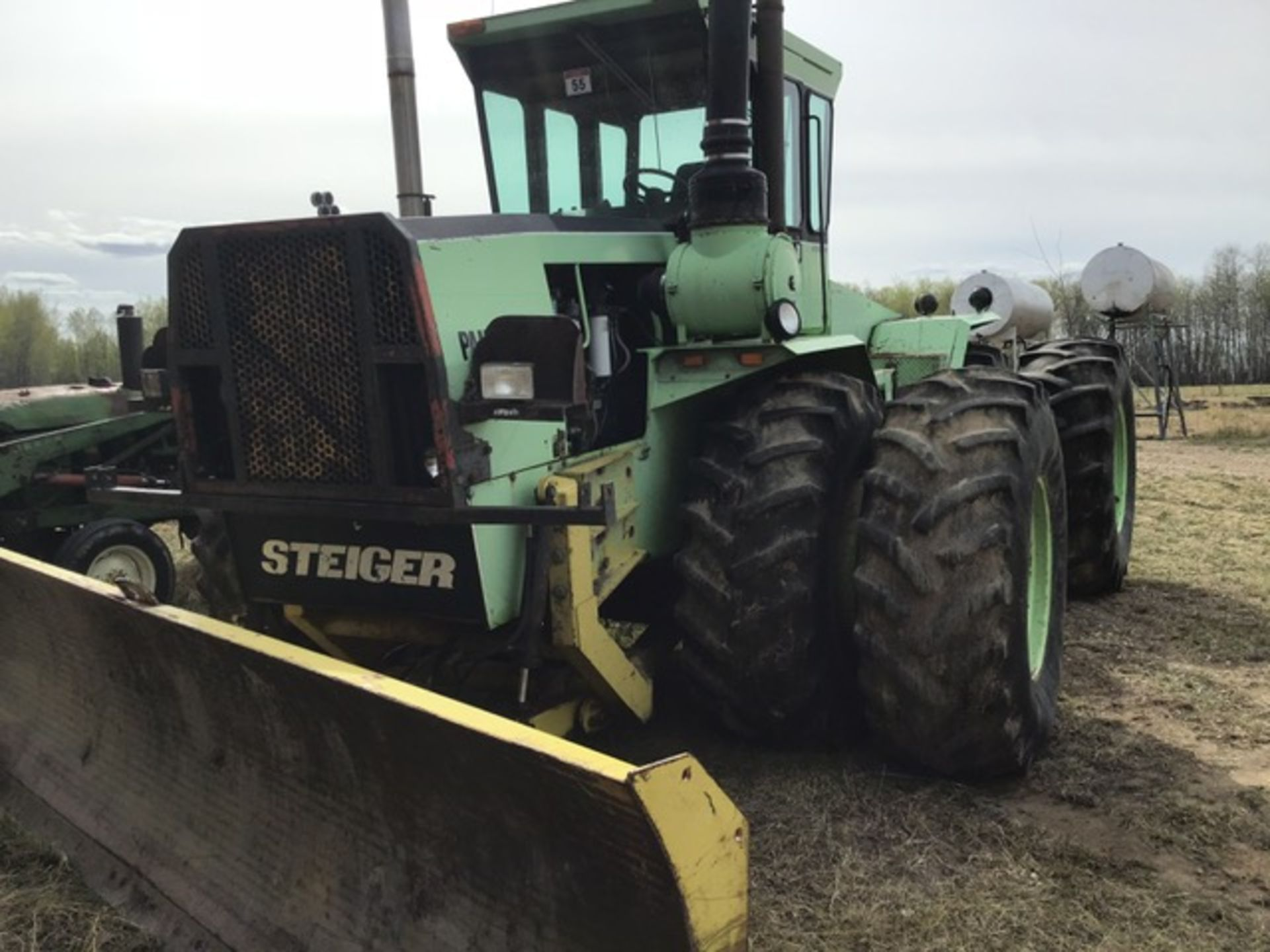 Lot 55 - Steiger ST325 Panther 4wd Tractor