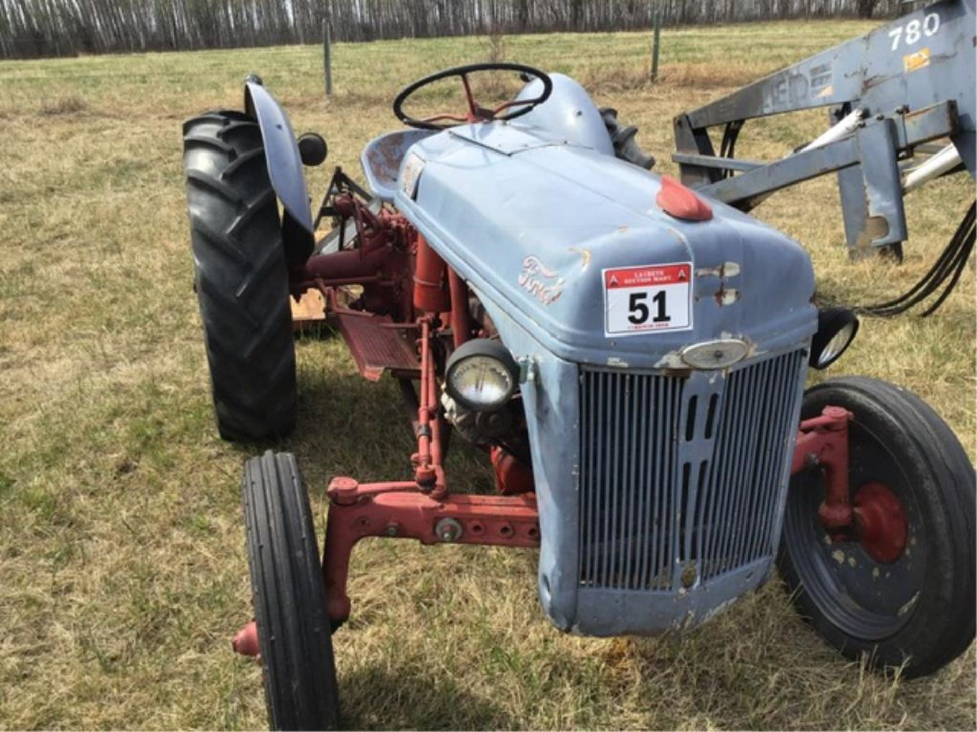 Lot 51 - Ford 8N Antique Tractor