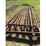 Lot 106 - (4)-30ft Stock Panels. Selling by the piece x 4.