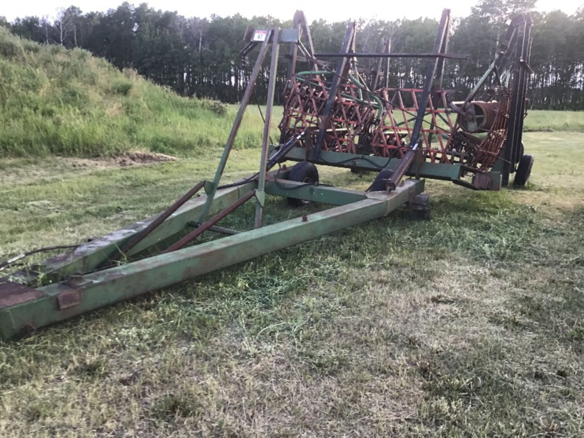 Lot 47 - 40ft Flexi Coil Harrow Packer Bar