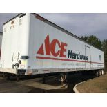 Trailer, Make: Great Dane. Year: UNKNOWN. Trailer #: S11. VIN: MAINE TAG A348602. Lift Gate. Sold