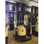 CROWN REACH TRUCK. Model #: RR5200. S/N: 1A241146. Hours (as of Oct 15, 2018): 14250. Year: 2001.