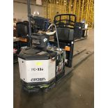 CROWN ELECTRIC PALLET JACK. Model #: PC4500. S/N: 10027893. Hours (as of Oct 15, 2018): 648. Year: