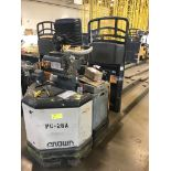 CROWN ELECTRIC PALLET JACK. Model #: PC4500. S/N: 6A344692. Hours (as of Oct 15, 2018): 2210.