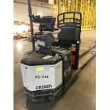 CROWN ELECTRIC PALLET JACK. Model #: PC4500. S/N: 10027892. Hours (as of Oct 15, 2018): 498. Year: