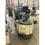 CROWN ELECTRIC PALLET JACK. Model #: PC4500. S/N: 10010493. Hours (as of Oct 15, 2018): 1177.