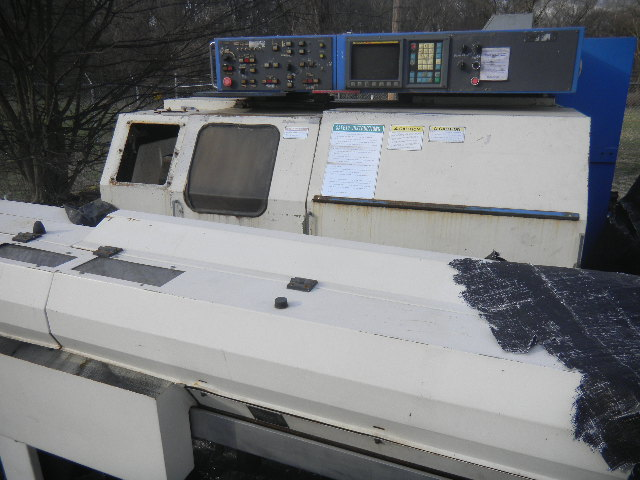 Lot 186 - CNC Machine & Feeder - Tsugami / NP 16 Bar Machine - Units Have Been Stored Outside in Elements