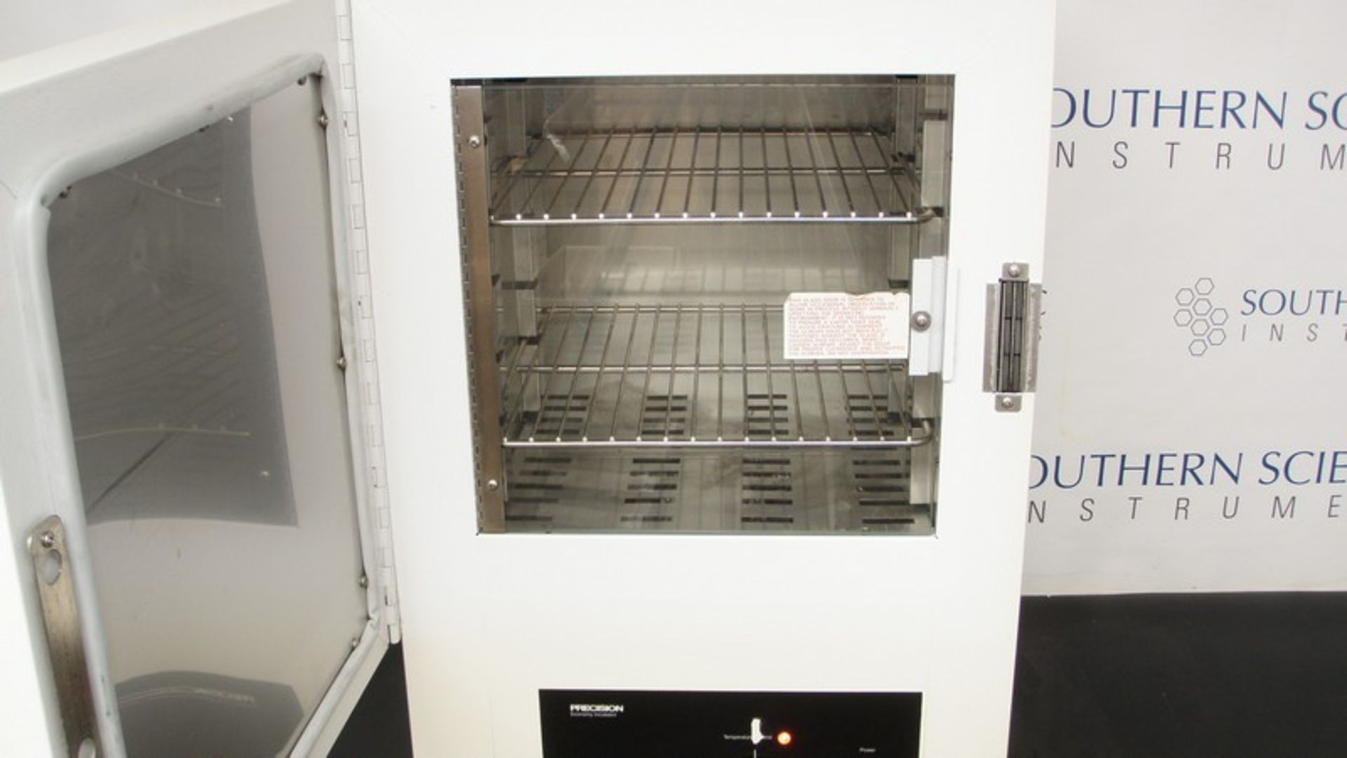 Lot 212 - Precision Economy Incubator Cat. No. 31570, S/N 9601-003 (NOTE: Powers On & Heats Up, Missing
