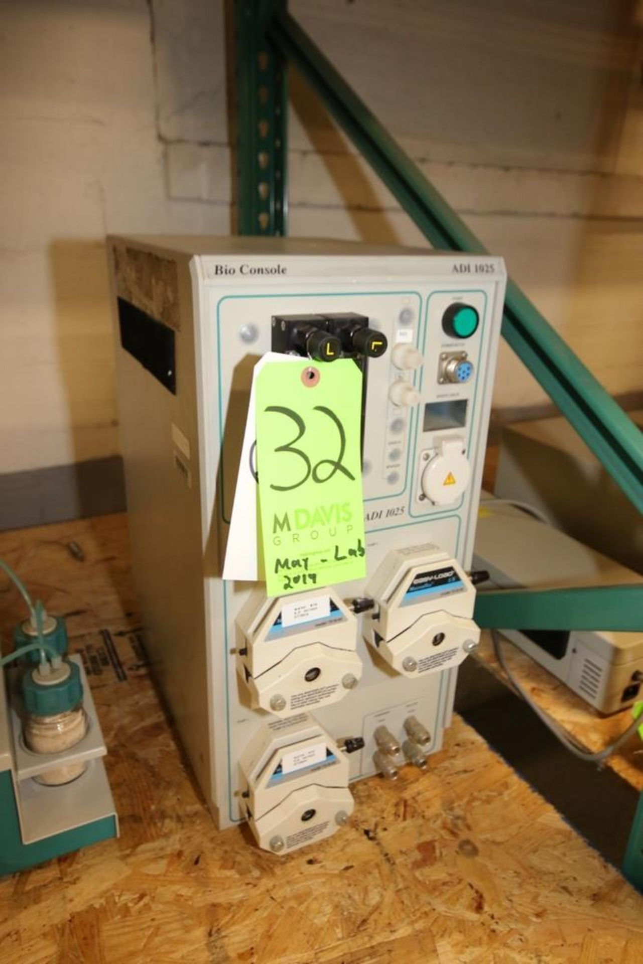 Lot 32 - Bio Console ADI 1025, with (3) Pump Heads ***Located in MDG Auction Showroom--Pittsburgh, PA***