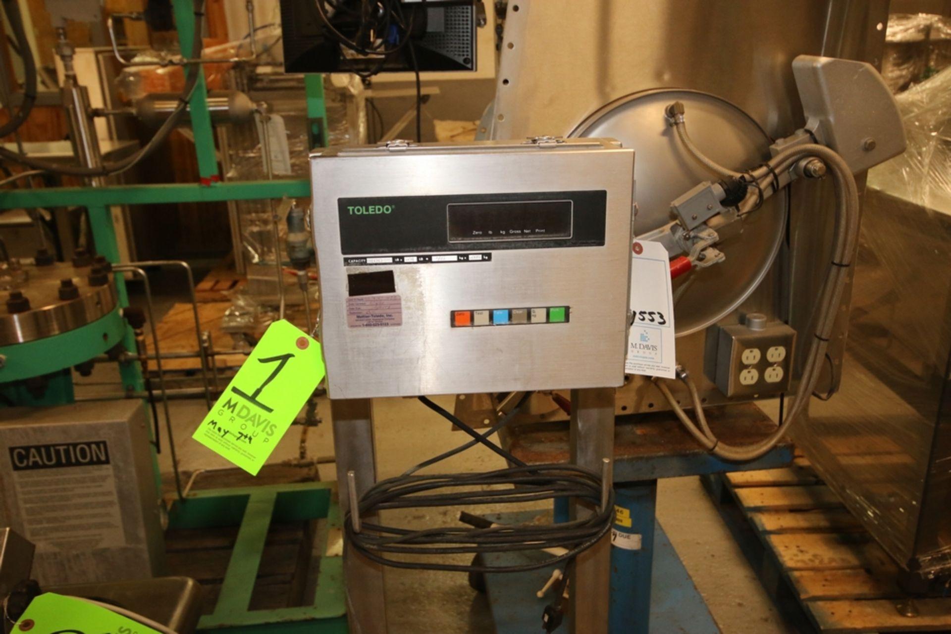 Lot 1 - Mettler Toledo S/S Digital Platform Scale, M/N 8140, S/N 4236703-4TR, 100 Capacity, with Aprox.