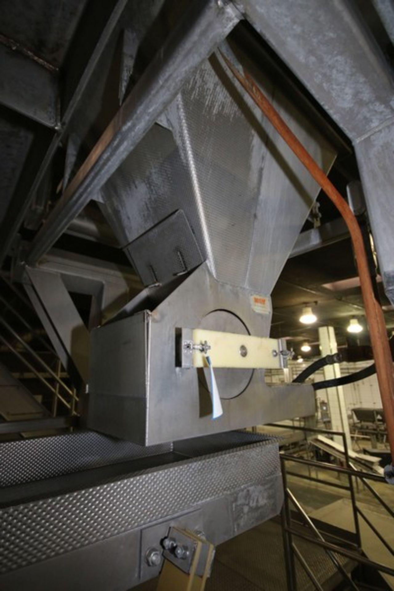 Lot 8 - Key S/S Spreader Shaker Feed System, Includes Key S/S Spreader Shaker Deck, M/N 428032-1, Deck
