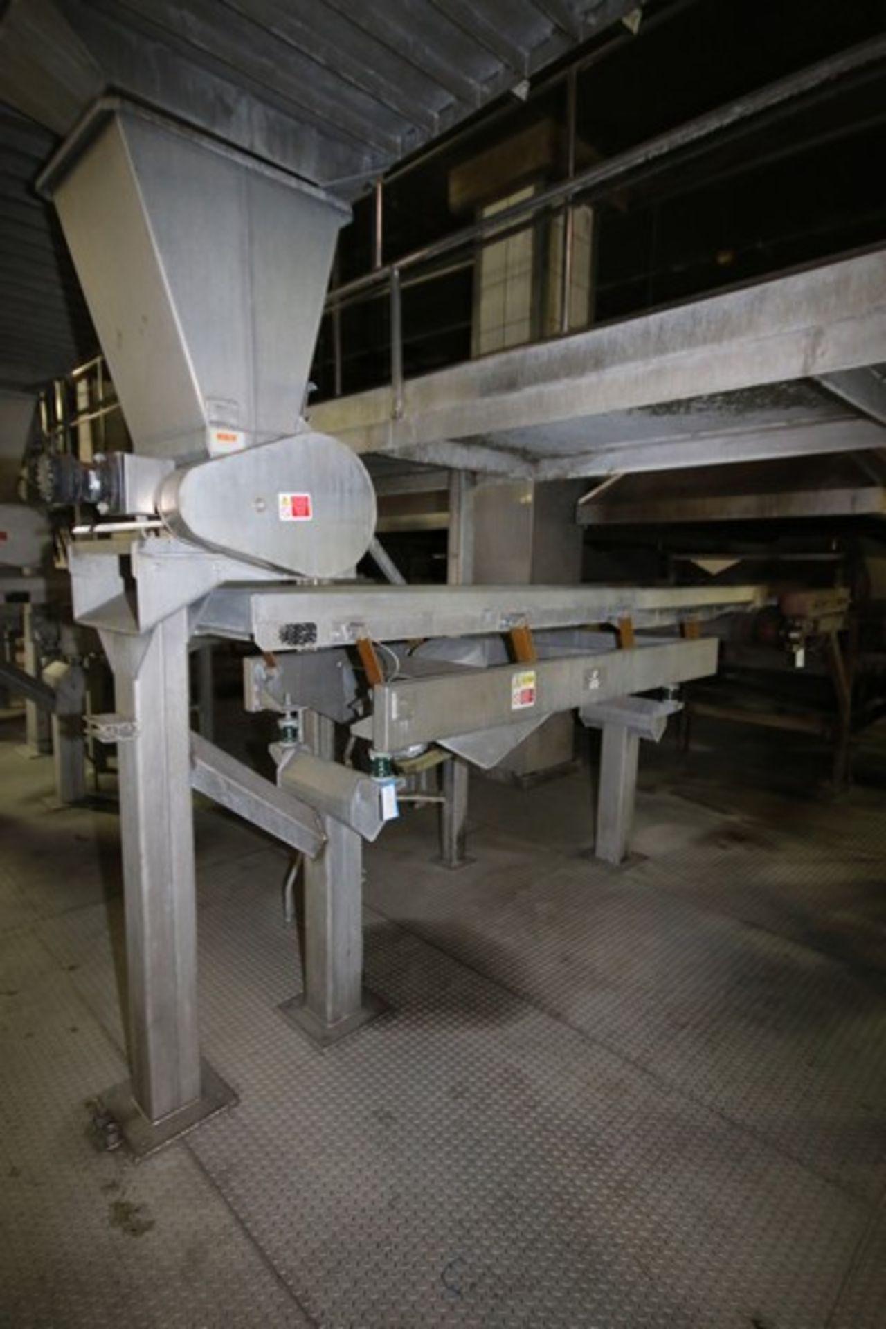 Lot 20 - Key S/S Spreader Shaker Feed System, Includes Key S/S Spreader Shaker Deck, M/N 432252-1, S/N 03-