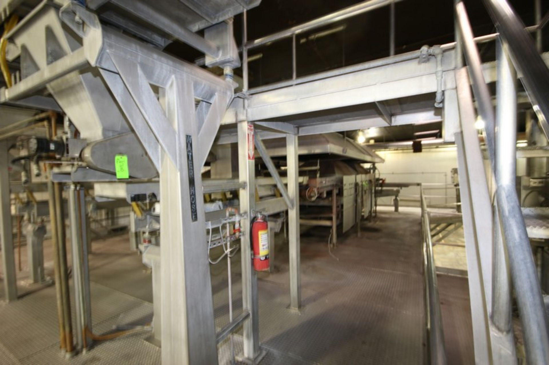 Lot 7 - BULK BID: Key S/S Spreader Shaker Feed System, with Natural Gas Roaster #2, Includes Lots 8 & 9