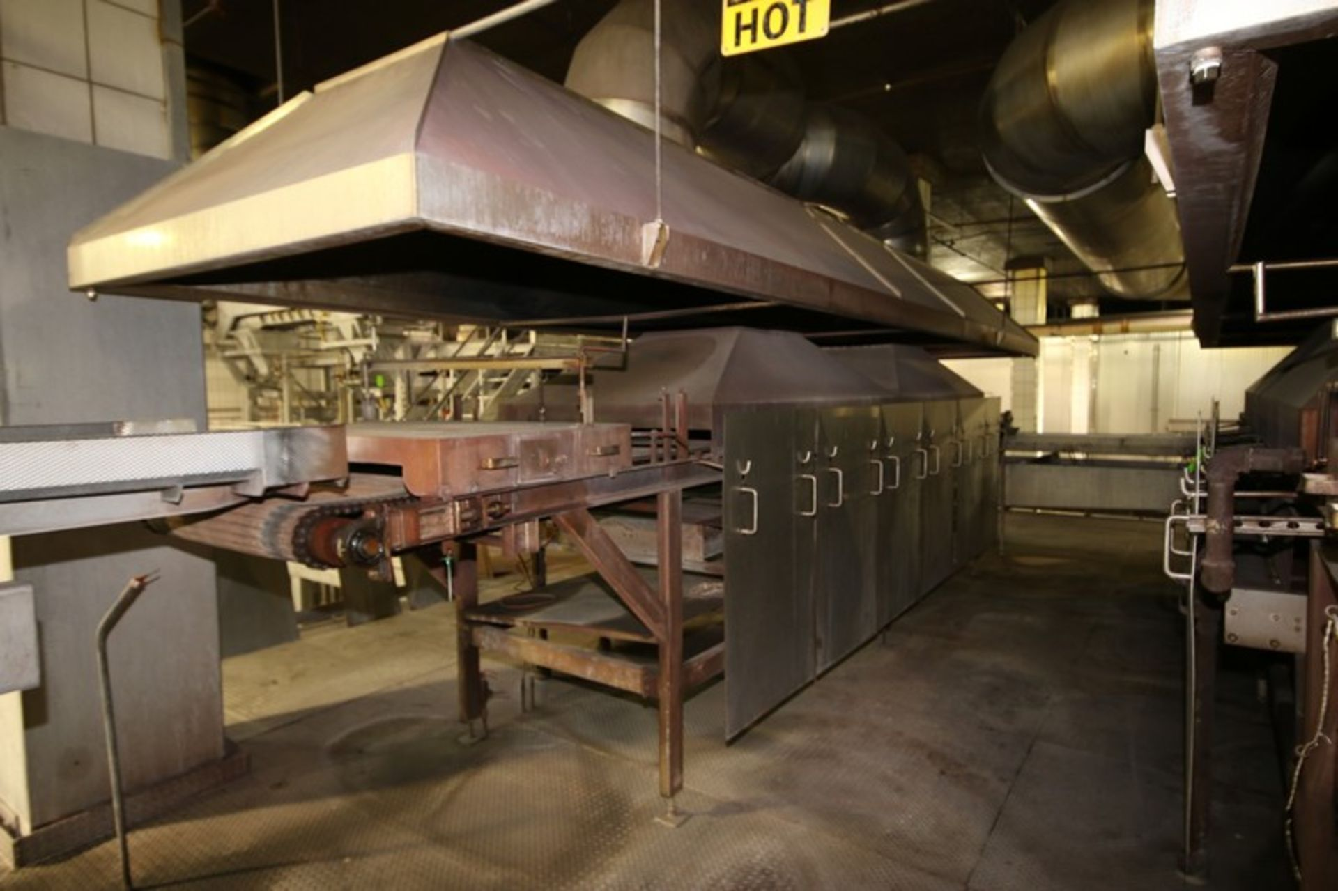 Lot 10 - BULK BID: Key S/S Spreader Shaker Feed System, with Natural Gas Roaster #3, Includes Lots 11 & 12