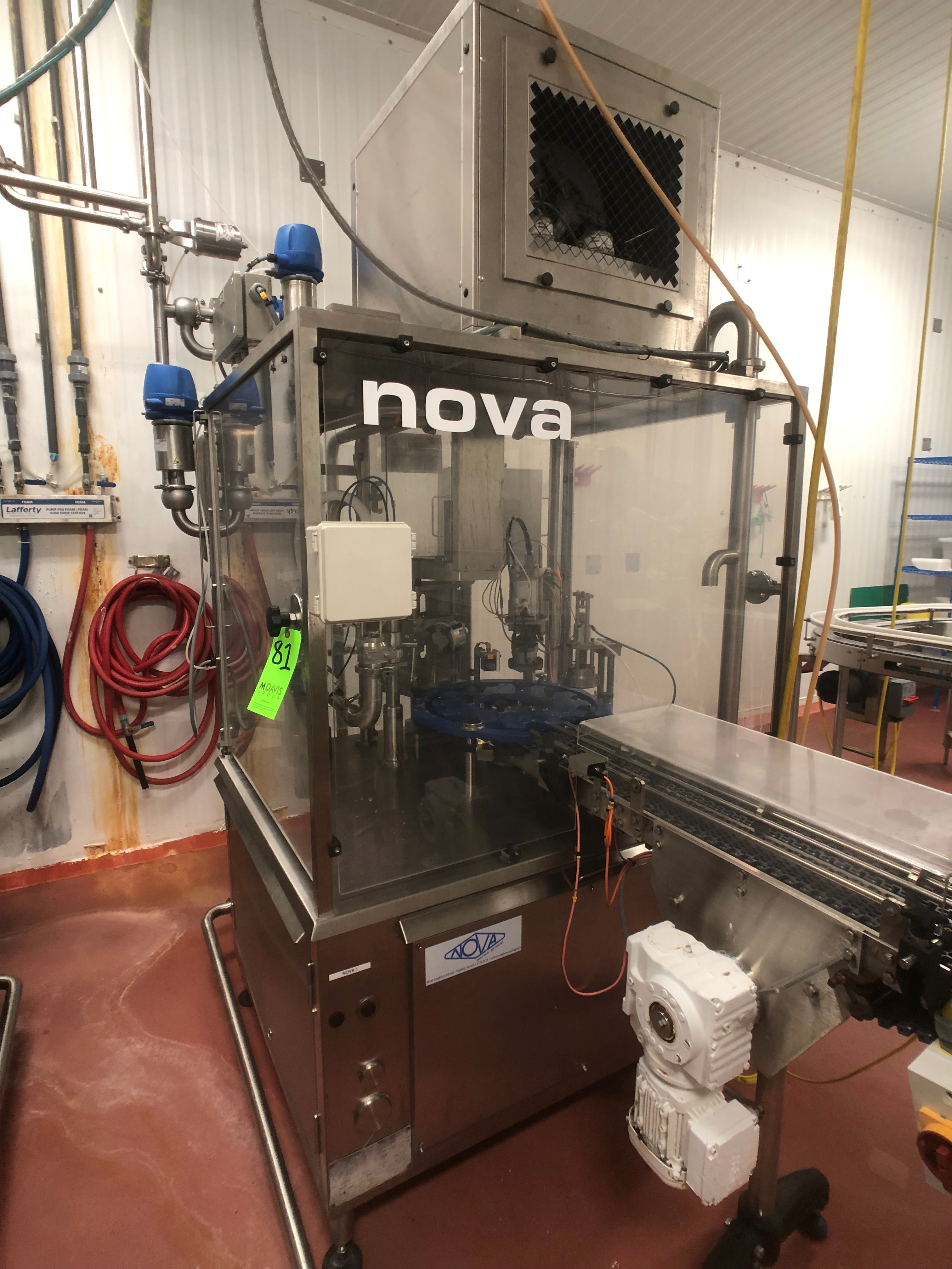 Drinkable Yogurt & Glass Bottle Filling Plant in Indianapolis