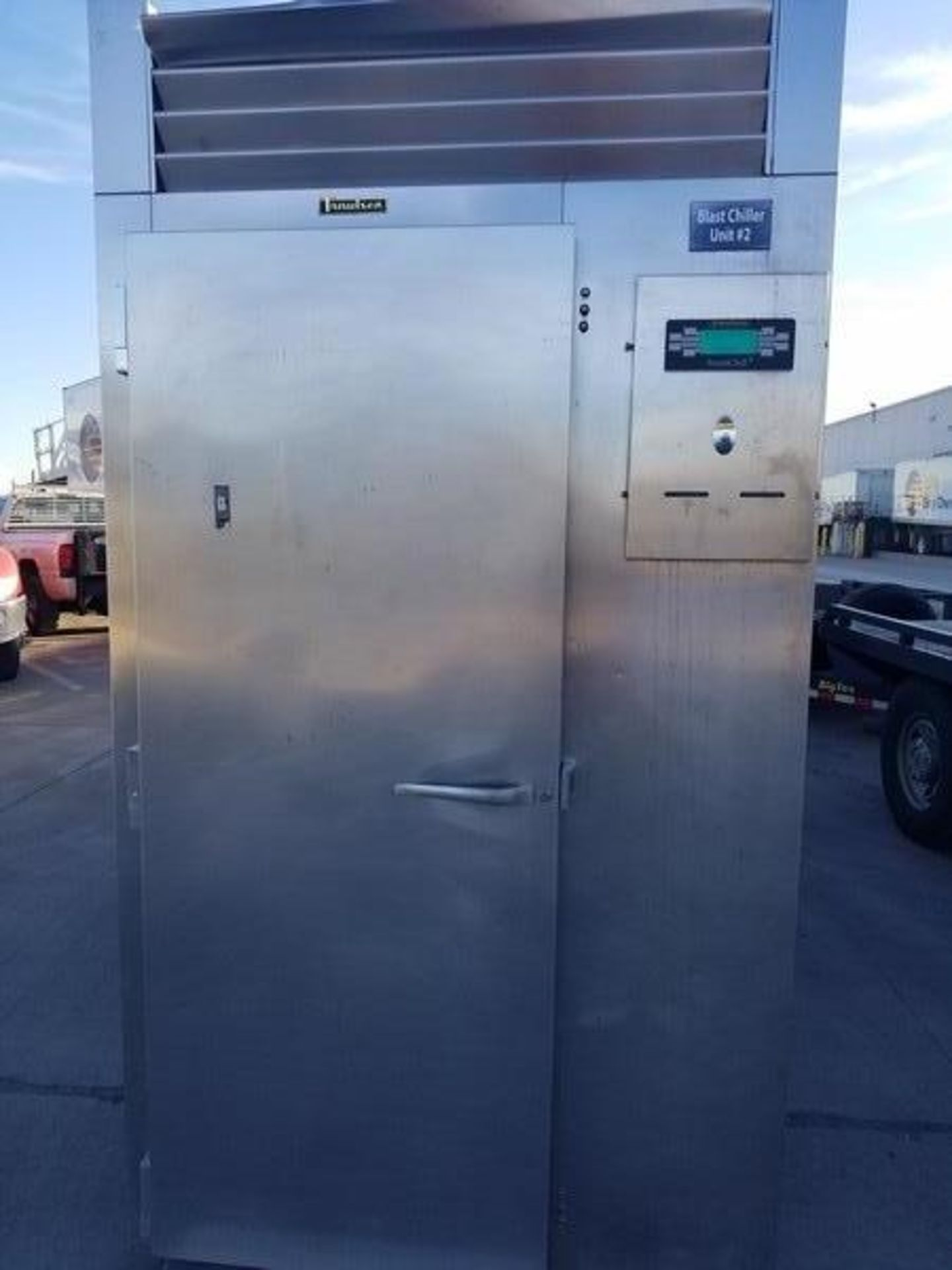 Lot 38 - Traulsen S/S Single Rack Blast Chiller, M/N RBC200-28, S/N T157174B11, Refrigerant 404A, Design