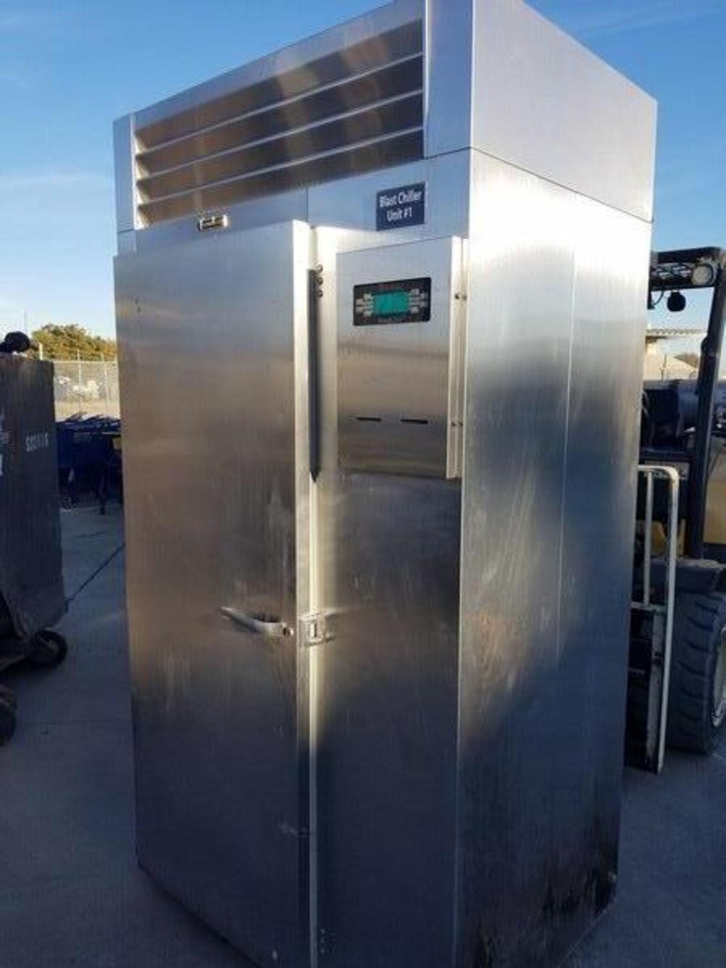 Lot 37 - Traulsen S/S Single Rack Blast Chiller, M/N RBC200-28, S/N T162475E11, Refrigerant 404A, Design