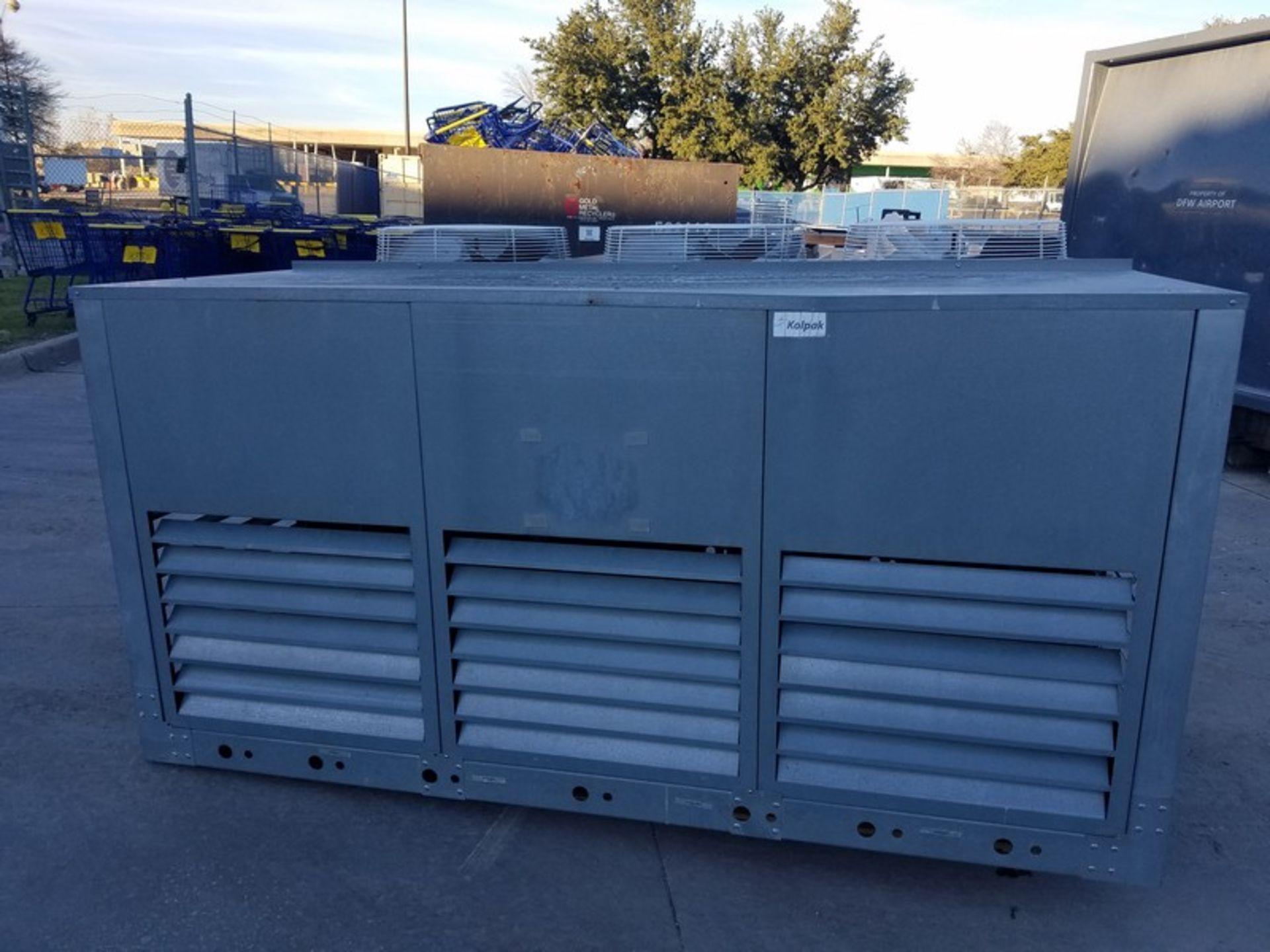 Lot 39 - 2011 Kolpak 3-Fan Refrigeration Compressor, M/N MC-20-4-Z-3-OP-3, S/N 410028019, Refrigerant 404A,