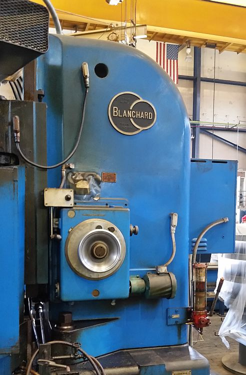 "Lot 20 - 48"" Blanchard 27-48 Rotary Surface Grinder, 100HP, s/n 12860, new 1968 (Located in Fontana, CA)"