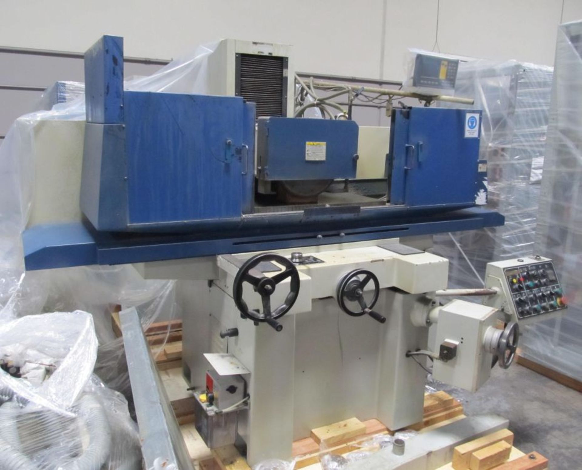 """Lot 22 - 16"""" x 32"""" Kent KGS-84AHD Automatic Surface Grinder, 3 axis auto, DRO, electro-magnetic chuck"""