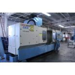 "Lot 3 - OKK KCV600 – 20L CNC Vertical Machining Center, Mitsubishi Neomatic control, 80"" x 25"" x 25"""