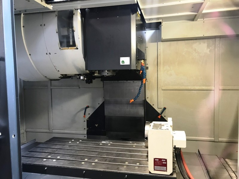 Lot 9 - Feeler VMP1100 4 Axis Vertical Machining Center, s/n 0iMD, New 2012 (Located in Claremont, NH)