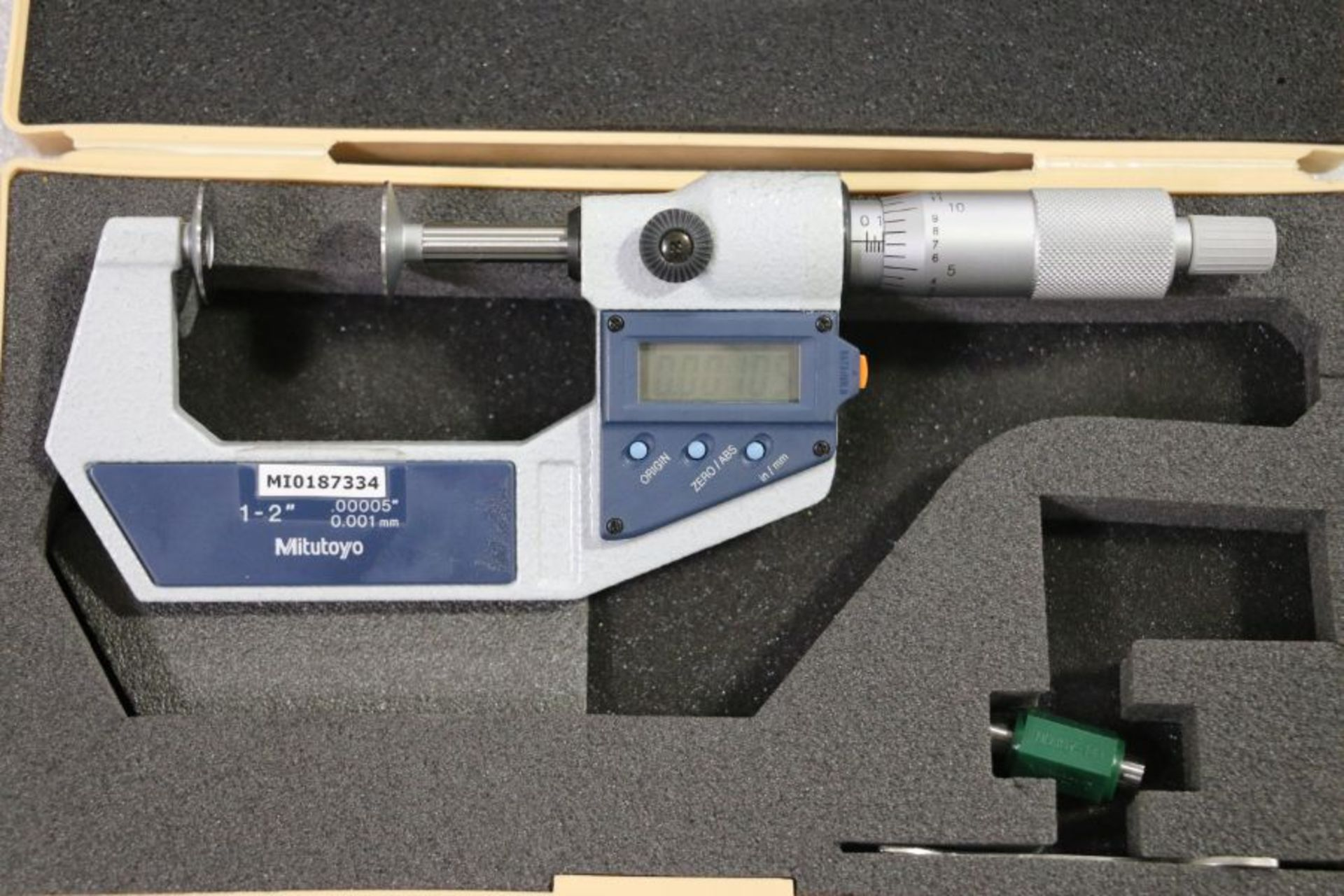 "Lot 56 - Mitutoyo 1"" - 2"" Digital Flange Micrometer"