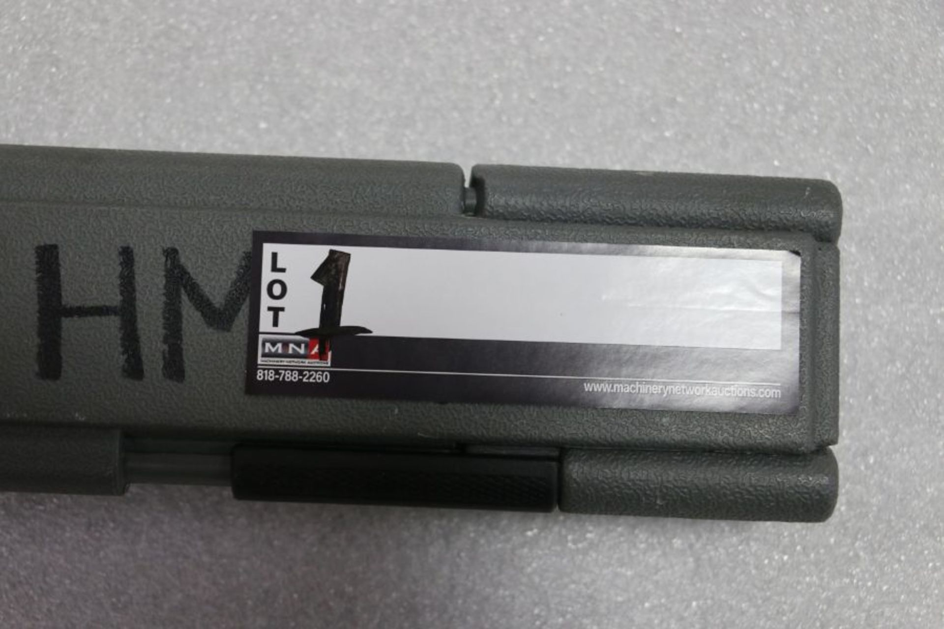 """Lot 1 - Craftsman Microtork 3/8"""" Torque Wrench"""