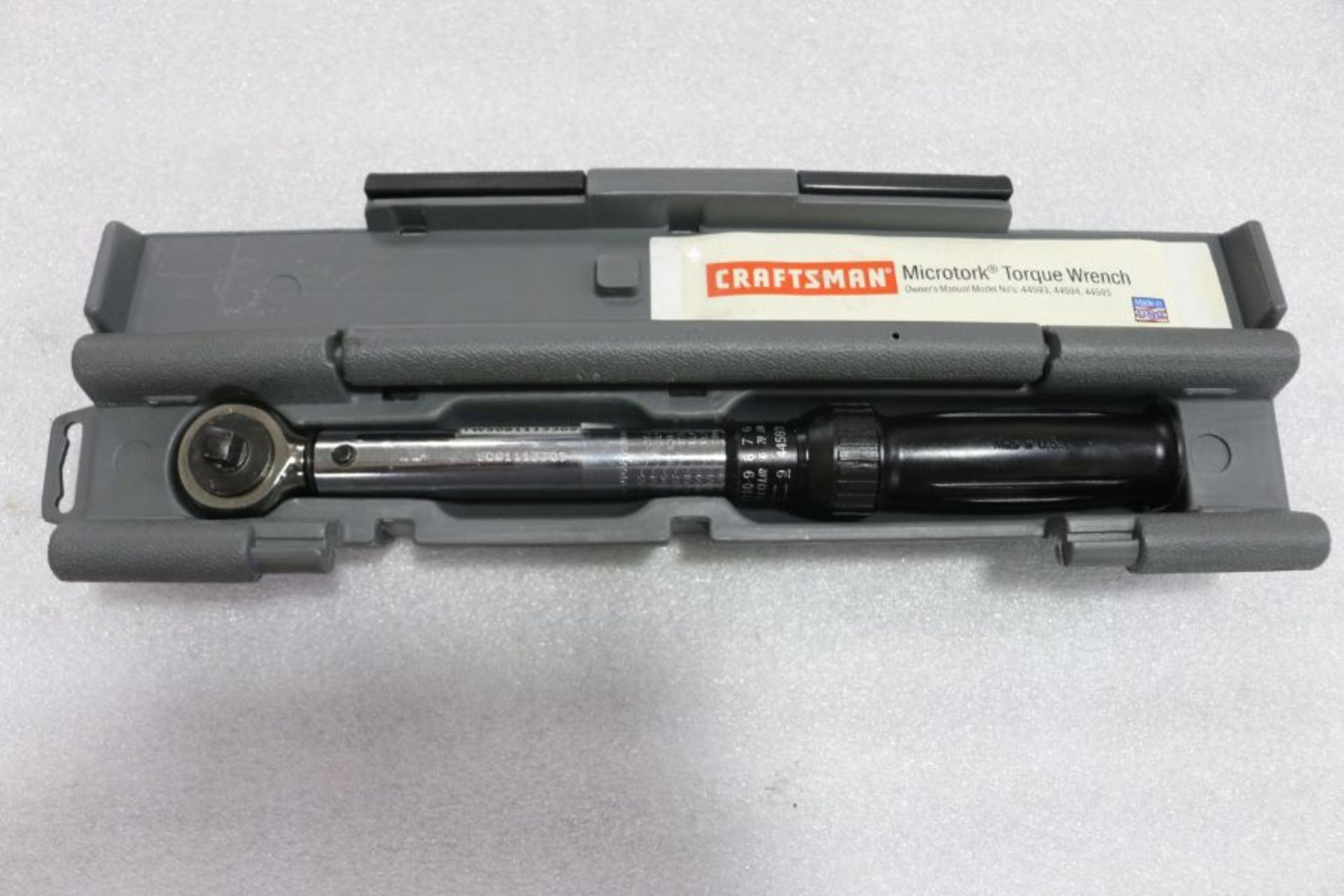 "Lot 2 - Craftsman Microtork 3/8"" Torque Wrench"