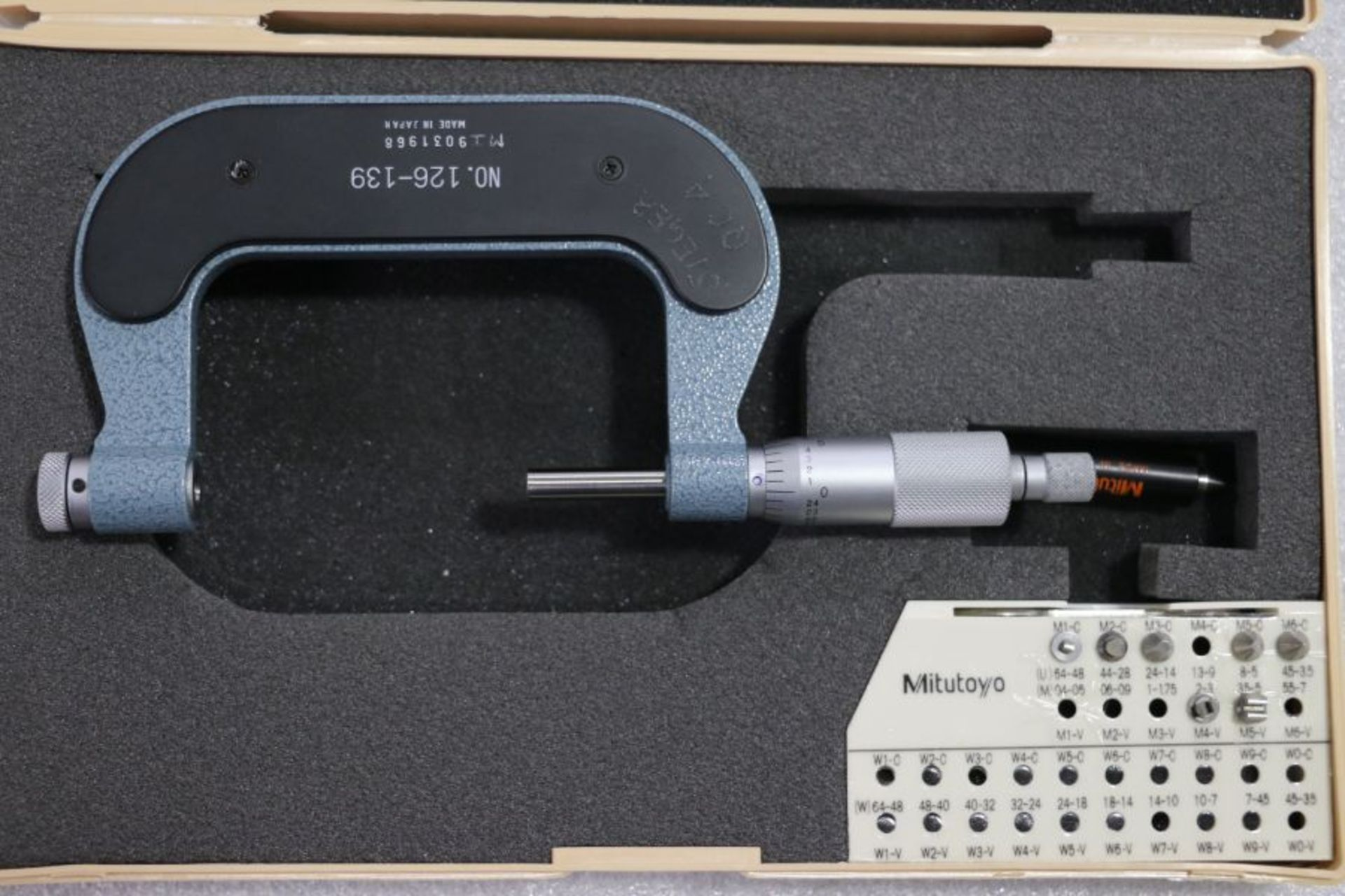 """Lot 26 - Mitutoyo 2"""" - 3"""" Pitch Micrometer"""