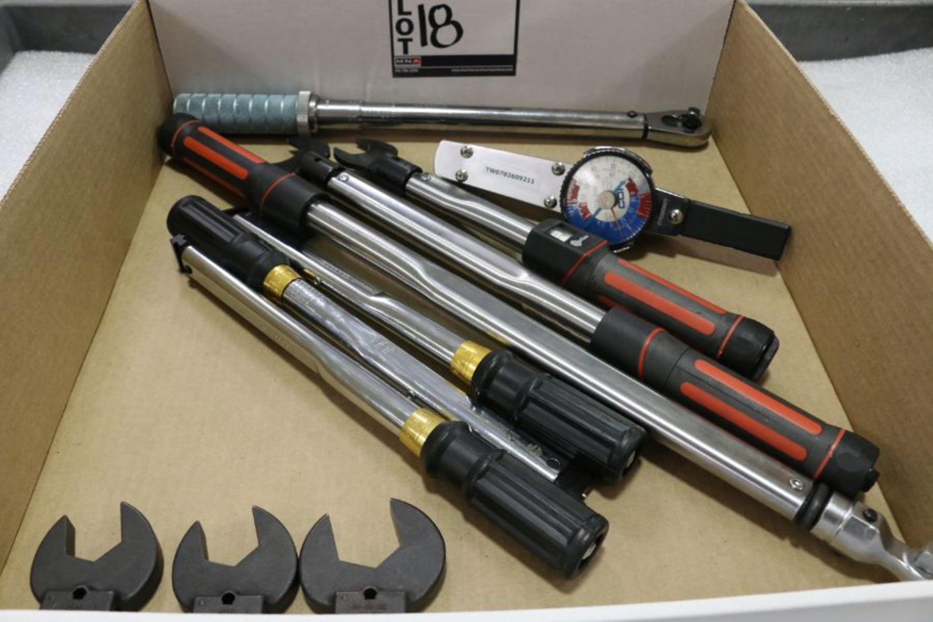 Lot 18 - Assorted Torque Wrenches