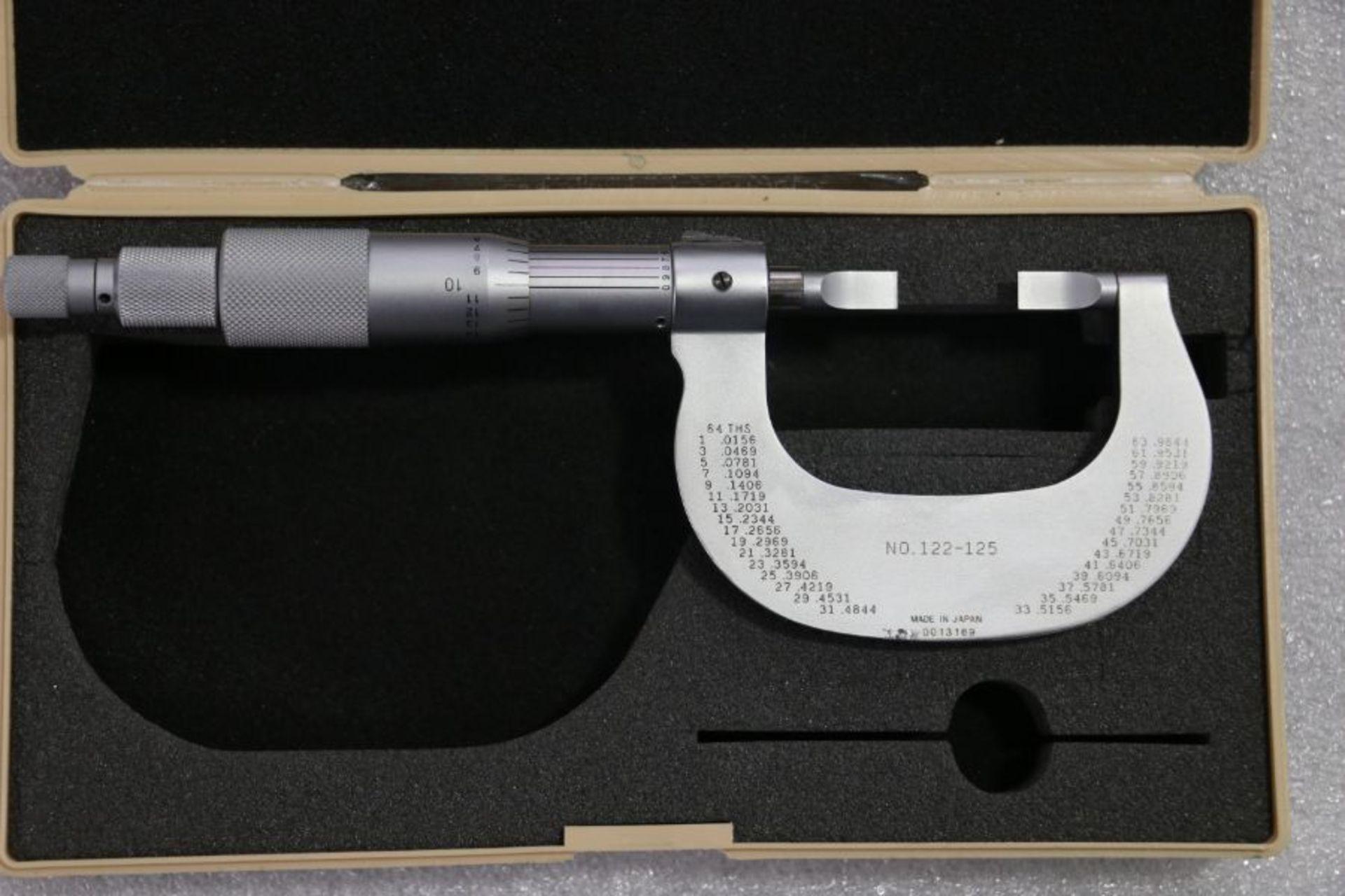 "Lot 38 - Mitutoyo 0"" - 1"" Blade Micrometer"