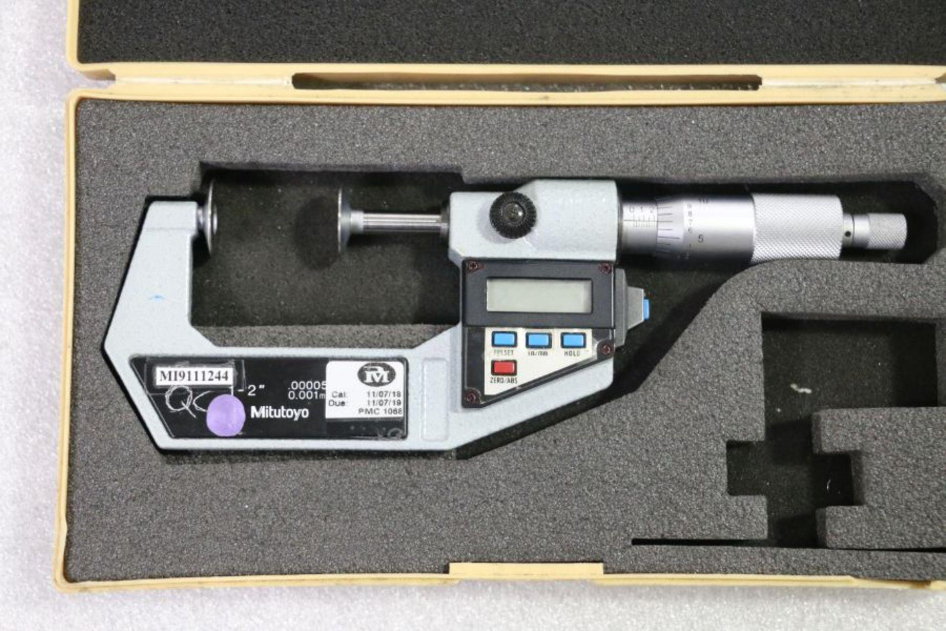 "Lot 55 - Mitutoyo 1"" - 2"" Flange Micrometer"