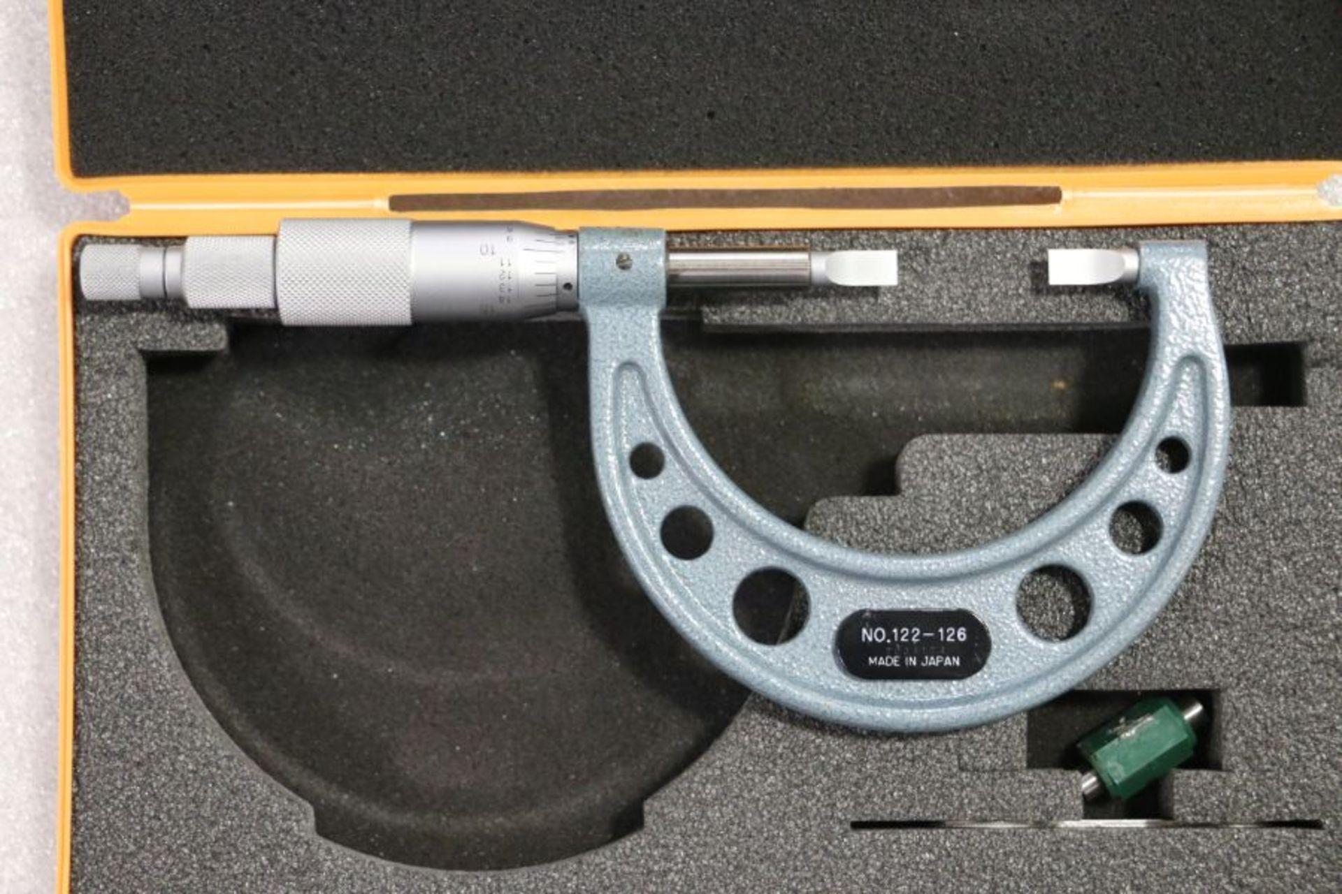 "Lot 43 - Mitutoyo 1"" - 2"" Blade Micrometer"