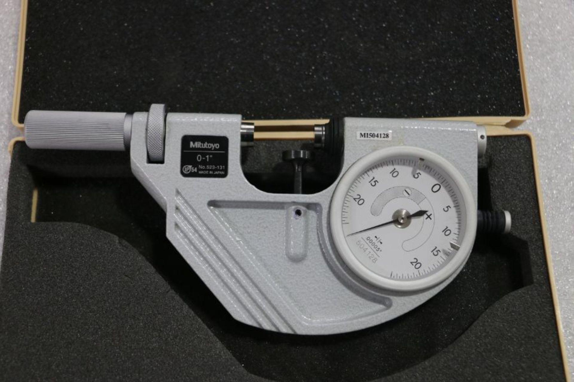 """Lot 29 - Mitutoyo 0"""" - 1"""" Indicating Micrometer"""