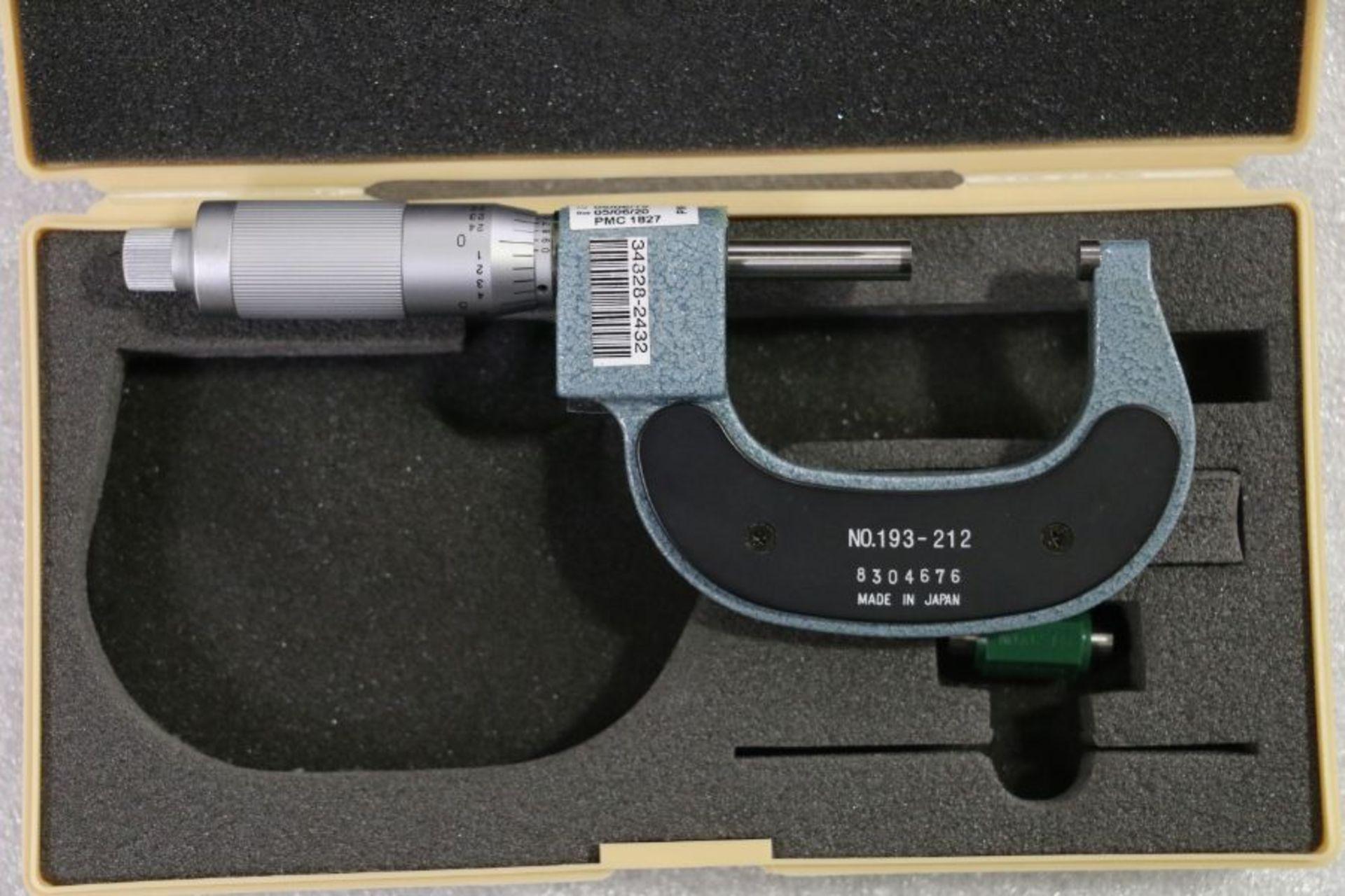 "Lot 46 - Mitutoyo 1"" - 2"" Digital Friction Micrometer"